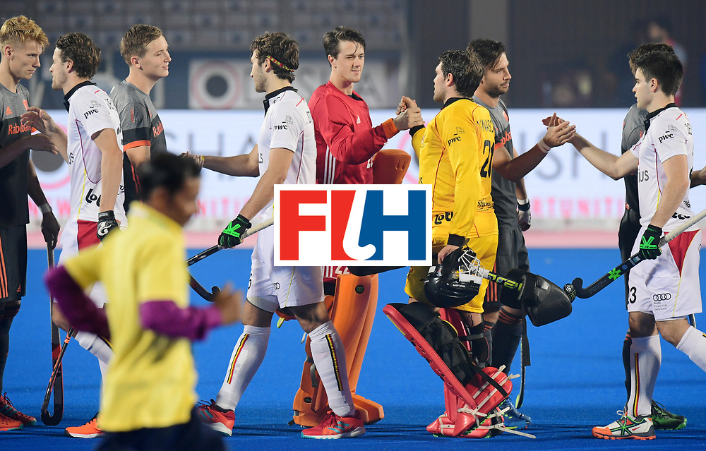Odisha Men's Hockey World League Final Bhubaneswar 2017<br /> Match id:12<br /> Belgium v Netherlands<br /> Foto: Line Up<br /> COPYRIGHT WORLDSPORTPICS FRANK UIJLENBROEK