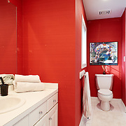 CHERRY HILL, NJ - DECEMBER 23, 2016: This second floor bathroom is between the rear and middle bedrooms. 9 Gwen Court, Cherry Hill, NJ. Credit: Albert Yee for the New York Times