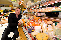 Connacht Rugby's Gavin Duffy,  at the opening of Horgan's Delicatessen Suppliers' first ever Food Emporium at Joyce's Supermarket, Knocknacarra, Co Galway.  The initiative marks Horgan's first Food Emporium Concept Store and cements a longstanding relationship with Joyce's Supermarket Group..Photo:Andrew Downes