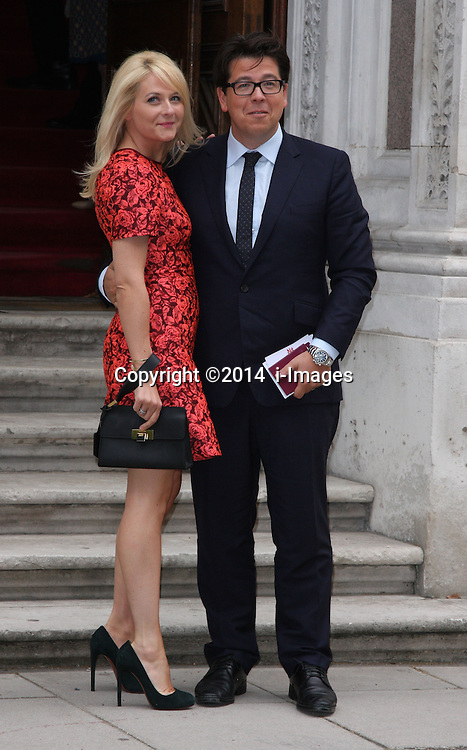 Image ©Licensed to i-Images Picture Agency. 30/06/2014. London, United Kingdom. MICHAEL MACINTYRE<br /> attends a reception for the Best of Britain's Creative Industries at The Foreign Office. Picture by  i-Images