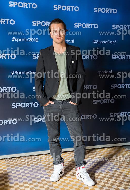 Gasper Pavli at Sports marketing and sponsorship conference Sporto 2016, on November 18, 2016 in Hotel Slovenija, Congress centre, Portoroz / Portorose, Slovenia. Photo by Vid Ponikvar / Sportida