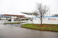 Hirschberg. 11.12.17 | <br /> Wasserstoffstankstelle. AirLiquid.<br /> <br /> Bild: Markus Prosswitz 11DEC17 / masterpress (Bild ist honorarpflichtig - No Model Release!) <br /> BILD- ID 01766 |