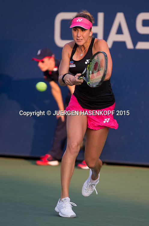 Belinda Bencic (SUI)<br /> <br /> Tennis - US Open 2015 - Grand Slam ITF / ATP / WTA -  Flushing Meadows - New York - New York - USA  - 31 August 2015.