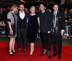 Share Stallings, Simon Pegg, Tania Chambers, Laurence Malkin, Daniel Finlay attend Kill Me Three Times Premiere as part of BFI LFF at Odeon West End on Saturday 18th October 2014
