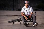 BMX Red Bull athlete Daniel Sanchez, named el Potro, performing at Mexico City on 30th of november 2012
