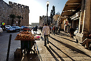 Israel, Jerusalem, the walls around the old city