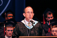 Head of upper school Samuel Wagner V speaks during the Miami Valley School 39th annual commencement at the Victoria Theatre in downtown Dayton, June 7, 2012.