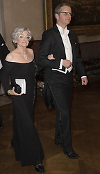 Karin Samuelsson, Mikael Damberg <br /> <br />  <br /> <br />  beim Nobelbankett 2016 im Rathaus in Stockholm / 101216 <br /> <br /> <br /> <br /> ***The Nobel banquet, Stockholm City Hall, December 10th, 2016***