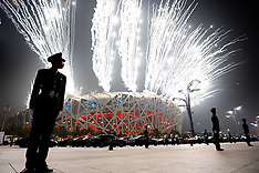 20080808 Olympics Beijing 2008, Åbningsceremoni på det Olympiske Stadion i Beijing.
