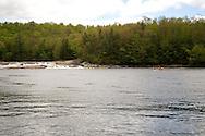 Spring Black/Moose Fest, Lyons Falls, NY. Bottom Moose River