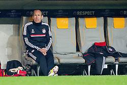 03-04-2012 VOETBAL: UEFA CL FC BAYERN MUNCHEN - OLYMPIQUE MARSEILLE: MUNCHEN<br /> Arjen Robben<br /> ***NETHERLANDS ONLY***<br /> ©2012-FotoHoogendoorn.nl-NPH/Straubmeier