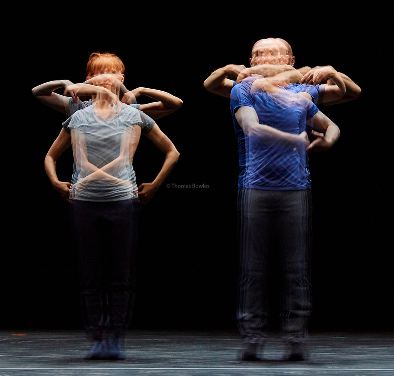 22nd June 2017. Elixir Festival, Knowbody II. Sadler's Wells,London. <br /> Catalogue (First Edition)  - William Forsythe<br /> <br /> Performed by Jill Johnson and Christopher Roman