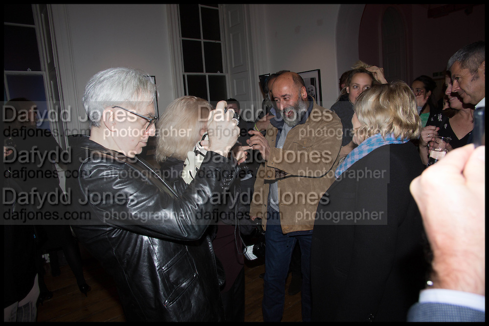 CHRIS STEIN; RICHARD YOUNG, Chris Stein / Negative: Me, Blondie, and The Advent of Chris Stein / Negative: Me, Blondie, and The Advent of Punk - private view, Somerset House, the Strand. London. 5 November 2014.