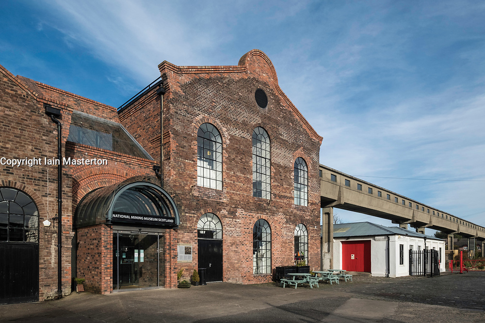 The National Mining Museum at Newtongrange in Scotland, United Kingdom.