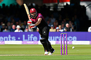 James Hildreth of Somerset batting during the Royal London 1 Day Cup Final match between Somerset County Cricket Club and Hampshire County Cricket Club at Lord's Cricket Ground, St John's Wood, United Kingdom on 25 May 2019.