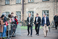 25.10.12017. Copenhagen, Denmark.  <br /> Prince Harry says hello to people gathered outside on the way to his next engagement during his official visit to Copenhagen.<br /> Photo: © Ricardo Ramirez