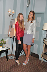 Left to right, KATIE READMAN and DAISY FELLOWES at a evening with fashion label Lilah held at Quo Vadis, 26-29 Dean Street, London W1 on 29th May 2013.