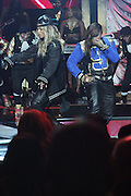 October 13, 2012- Bronx, NY: (L-R) Recording Artist Ciara and Recording Artist Missy Elliott performs at the Black Girls Rock! Awards presented by BET Networks and sponsored by Chevy held at the Paradise Theater on October 13, 2012 in the Bronx, New York. BLACK GIRLS ROCK! Inc. is 501(c)3 non-profit youth empowerment and mentoring organization founded by DJ Beverly Bond, established to promote the arts for young women of color, as well as to encourage dialogue and analysis of the ways women of color are portrayed in the media. (Terrence Jennings)