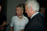 DAPHNE GUINNESS AND LORD MOYNE Mario Testino: Obsessed by You -  private view<br />