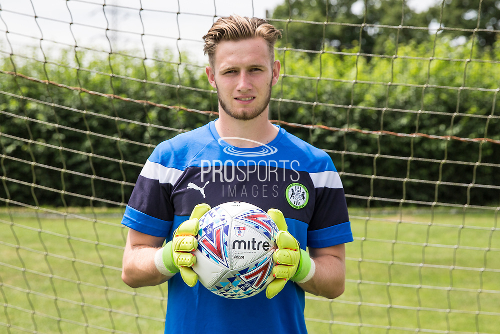 Brad Collins on loan from Chelsea is the latest Forest Green Rovers Signing at the New Lawn, Forest Green, United Kingdom on 7 July 2017. Photo by Shane Healey.