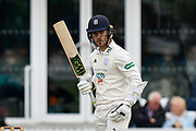 Lewis McManus of Hampshire during the opening day of the Specsavers County Champ Div 1 match between Somerset County Cricket Club and Hampshire County Cricket Club at the Cooper Associates County Ground, Taunton, United Kingdom on 11 May 2018. Picture by Graham Hunt.
