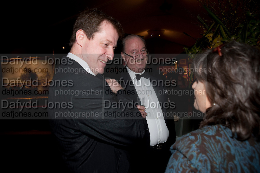 ALASTAIR CAMPBELL; LORD CADOGAN, Bada Antiques Fine art Fair charity Gala. In aid of Leukaemia and Lymphoma Research. 18 March 2010.
