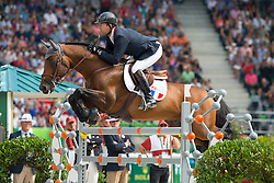 Patrice Delaveau, (FRA), Orient Express HDC - Show Jumping Final Four - Alltech FEI World Equestrian Games™ 2014 - Normandy, France.<br /> © Hippo Foto Team - Leanjo de Koster<br /> 07-09-14