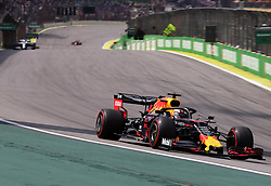November 17, 2019, SãO Paulo, Brazil: SÃO PAULO, SP - 17.11.2019: GRANDE PRÊMIO DO BRASIL F1 2019 - Max VERSTAPPEN (NED) Aston Martin Red Bull Racing during the Brazilian Formula 1 Grand Prix 2019, held at the Interlagos Circuit in São Paulo, SP. (Credit Image: © Rodolfo Buhrer/Fotoarena via ZUMA Press)