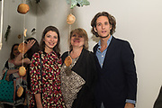 SVETLANA MARICH; ANGELINA REDKINA; LAURENCE VAN HAGEN, Art Night Party, Phillips de Pury. 24 May 2018