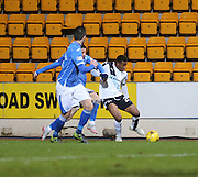 Dundee&rsquo;s Riccardo Calder - St Johnstone v Dundee, Ladbrokes Scottish Premiership at McDiarmid Park<br /> <br />  - &copy; David Young - www.davidyoungphoto.co.uk - email: davidyoungphoto@gmail.com