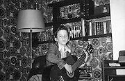 Neville with Guitar, 16 Hawthorne Road, High Wycombe, UK, 1980s