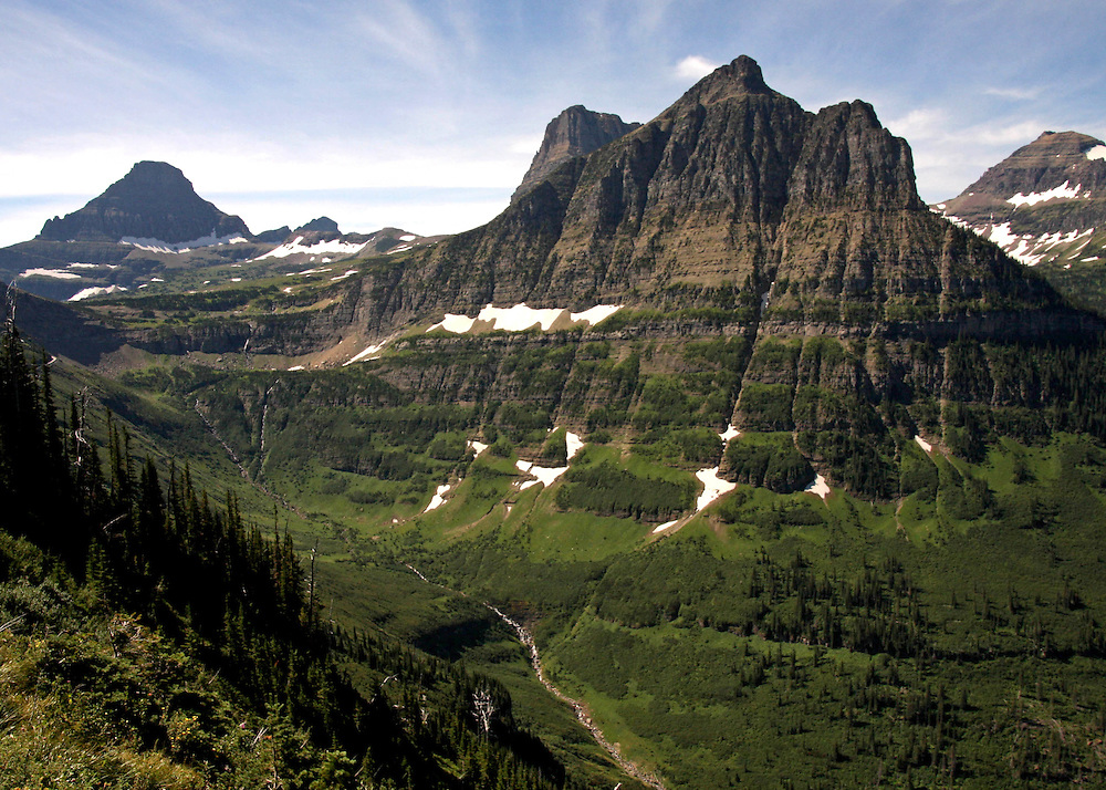 Going-to-the-Sun at Glacier National Park, Montana.