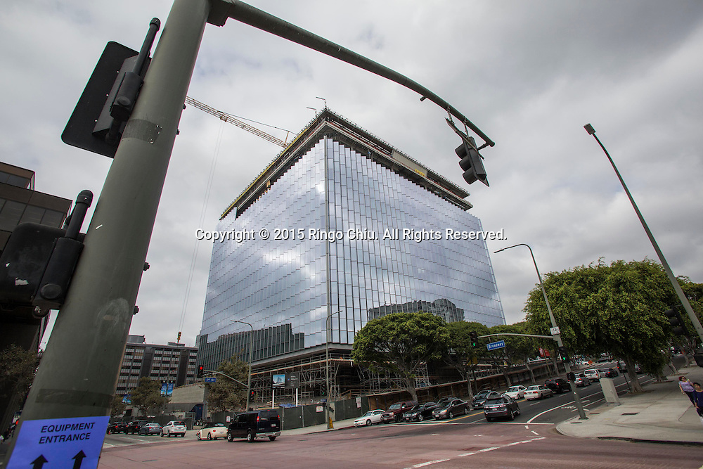Los Angeles Federal Courthouse at First Street and Broadway.(Photo by Ringo Chiu/PHOTOFORMULA.com)
