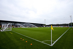 A general view of The Pirelli Stadium, home to Burton Albion - Mandatory by-line: Robbie Stephenson/JMP - 28/08/2018 - FOOTBALL - Pirelli Stadium - Burton upon Trent, England - Burton Albion v Aston Villa - Carabao Cup