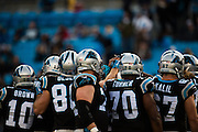 January 3, 2016: Carolina Panthers vs Tampa Bay Buccaneers. Panthers Defense
