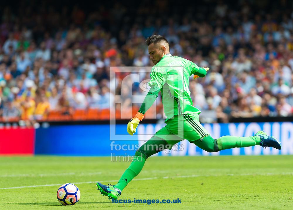 Diego Alves of Valencia CF during the La Liga match at Mestalla, Valencia<br /> Picture by Maria Jose Segovia/Focus Images Ltd +34 660052291<br /> 02/10/2016