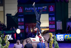 BRÜSEWITZ Viktor (GER), Laser 19<br /> Leipzig - Partner Pferd 2019<br /> FEI Vaulting World Cup<br /> 2. Umlauf<br /> Herren / Male<br /> 19. Januar 2019<br /> © www.sportfotos-lafrentz.de/Stefan Lafrentz