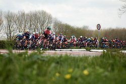 Loes Adegeest (NED) at Healthy Ageing Tour 2019 - Stage 5, a 124.3 km road race in Midwolda, Netherlands on April 14, 2019. Photo by Sean Robinson/velofocus.com