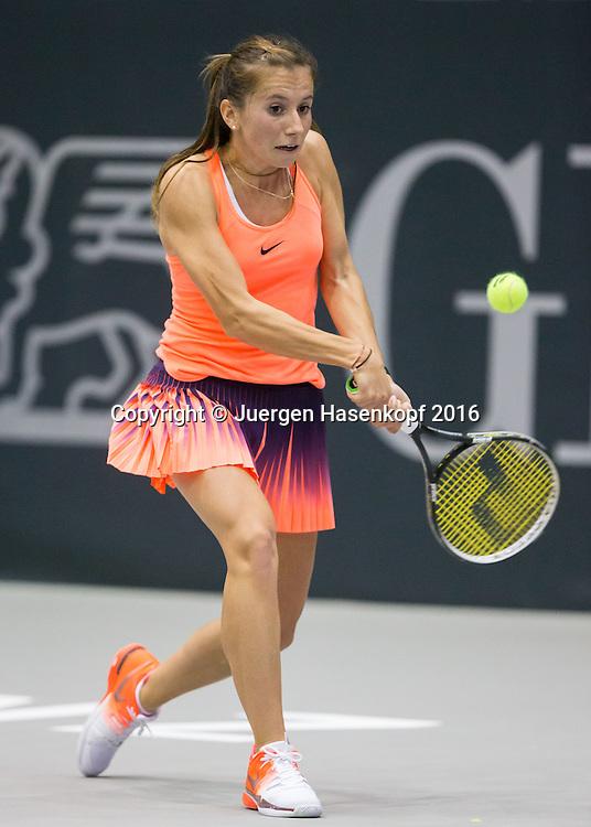 ANNIKA BECK (GER)<br /> <br /> Tennis - Ladies Linz 2016 - WTA -  TipsArena  - Linz - Oberoesterreich - Oesterreich - 11 October 2016. <br /> &copy; Juergen Hasenkopf