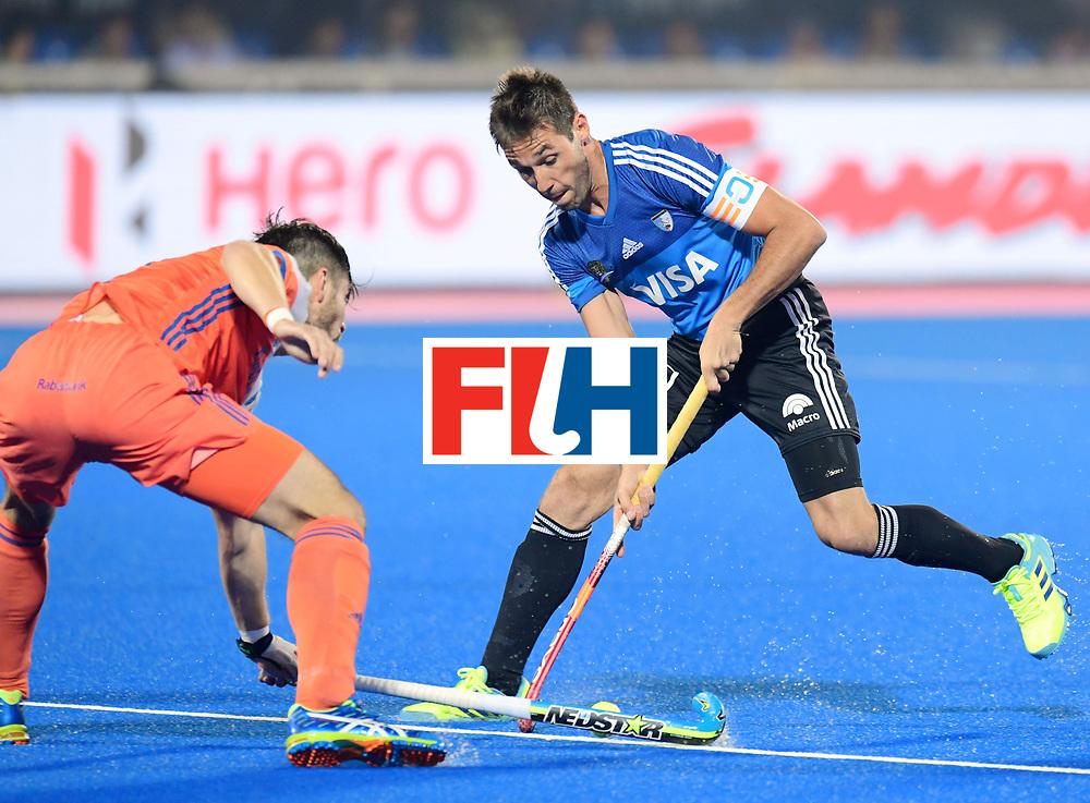 Odisha Men's Hockey World League Final Bhubaneswar 2017<br /> Match id:08<br /> Netherlands v Argentina<br /> Foto: Matias Paredes (Arg) <br /> WORLDSPORTPICS COPYRIGHT FRANK UIJLENBROEK