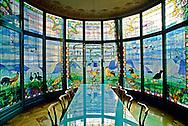 Barcelona, Spain, Casa Lleo Morera, interior, Art Nouveau