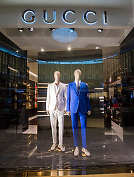 Gucci boutique at The Dubai Mall in Dubai United Arab Emirates