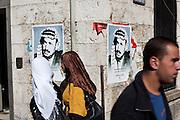 Daily life in Ramallah in Palestinian Territory