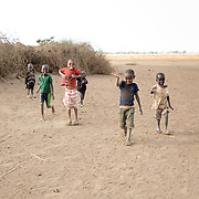 Time playing with the Maasai children near Amboseli National Park in Africa ~ a meaningful departure from the daily game drives.<br />