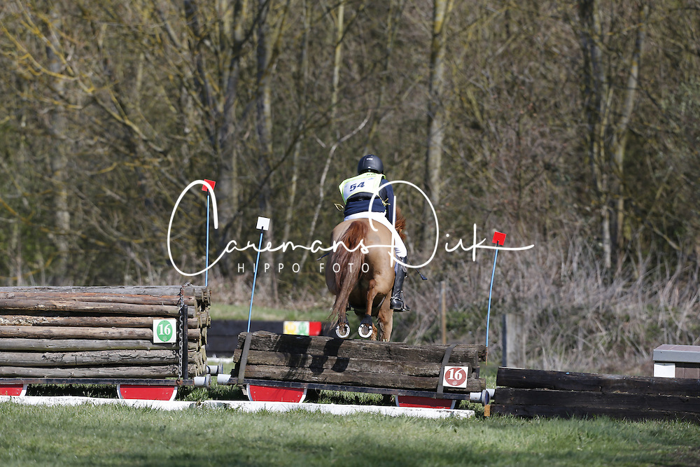 Bombeek Dries (BEL) - Quinten<br /> Nationale Pony eventing Affligem 2013<br /> &copy; Dirk Caremans