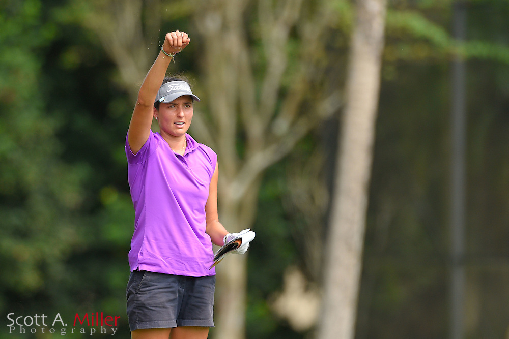 Emily Tubert during the third round of the Symetra Tour Championship at Alaqua Country Club in Longwood, Florida on Oct. 15, 2016 .<br /> <br /> &copy;2016 Scott A. Miller