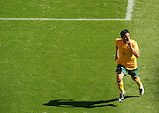 FIFA World Cup 2006 Tim Cahill of Australia celebrates after scoring to make it 1-1