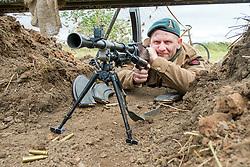 Number 4 Commando Bren position<br />  17 July 2016<br />  Copyright Paul David Drabble<br />  www.pauldaviddrabble.photoshelter.com