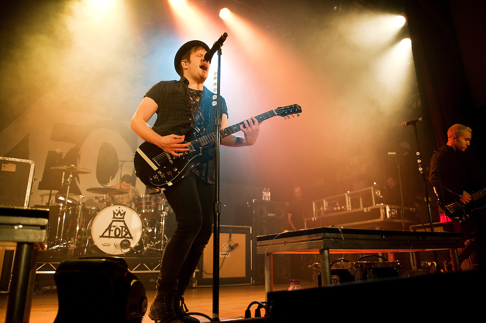 Fall Out Boy live at Islington Assembly Hall on 14/01/15