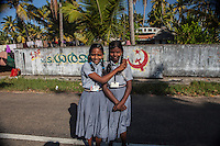 Schoolgirls in Kerala.